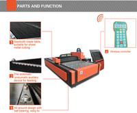 acrylic sheet wool felt laser sticker cutting printing machine/laser engraving and cutting machine price
