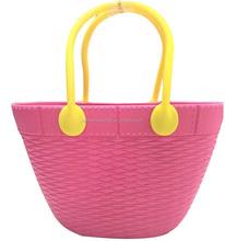 hot selling fashion ladies designer EVA/silicone handbag