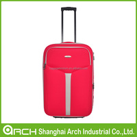 Soft trolley luggage case/ luggage bag/ rolling luggages