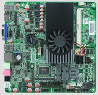 Intel I3 3217U dual core DDR3 Industrial Mini ITX Motherboard With LVDS /6*COM