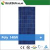 Bluesun cheap shipping cost good service polycrystalline solar panels 140w