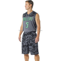 elastic basketball uniform, spandex basketball uniform design