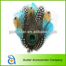 Wholesale! Natural Peacock Feather headband,feather hairband,Feather accessories,Feather Headwear For Lady