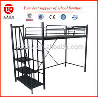 Black single cot bed size
