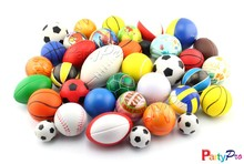 New China Products For 2015 Silicone Anti Mini Basketball And Brain Rugby Memory Foam Stress Balls