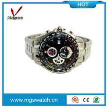 China new factory direct sale high quality wristwatches men steel goods