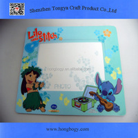 Promotion EVA printed photo frame mouse pad
