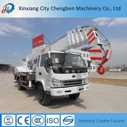 Powerful Diesel/Electrical Motor Driving Truck Crane with Lowest Price