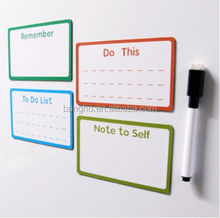 Hot sale smooth erasable writing board with pen