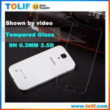 Free Samples for S4 tempered glass screen protector for Samsung Galaxy s4 i9500 tempered Glass film wholesale