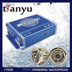 anti-theft audio mp3 waterproof radio mp3 player for motorcycle