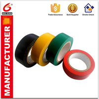 can be printed Waterproof PVC Material Electrical Insulation Tape for Sealing Wire jumbo rolls