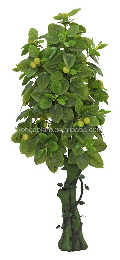 Top selling artificial decoration plants with cheap price for Buy a lemon tree plant
