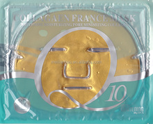 hot sell! collagen 24k gold crystal Q10 facial mask