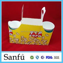 Tintop trendy food tin/metal gifts packaging popcorn tin/promotional tin with metal lid