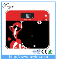 digital bathroom weigh scale electronic personal scale measure bmi and body fat scale machine
