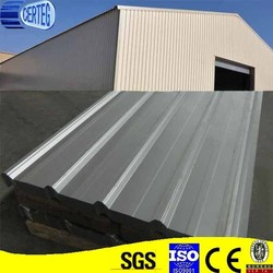 Lightweight corrugated steel roofing shingle