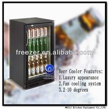 118L Best Sale Refrigerated Cabinet/Back Bar Electric LED Refrigerator