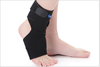 D34 medical heated black color ankle support