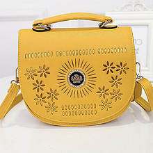 China supplier wholesale women bags factory price ladies handbag bag with flowers SY6514