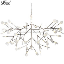 Hot selling products of 2015 Heracleum ii MOOOI LED chandeliers copper