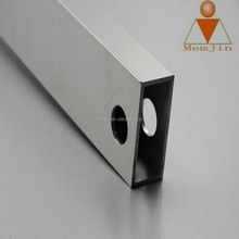 Good cutting extrusion anodized aluminium car luggage carrier accessories profile