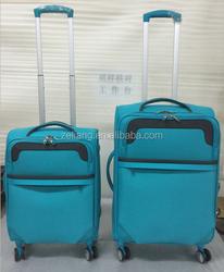 2015 hot sale luggage/4 wheels fashion luggage/made in china suitcase