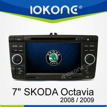 "7"" Touch Screen Car Entertainment GPS Navigation system for Skoda Octavia 2008/2009"