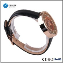 leather watch factory sale free sample are accepted quality leather watch design item