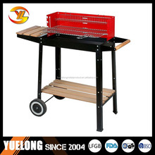 Professional BBQ tools smokeless BBQ charcoal grill with wind shield.YL1231B