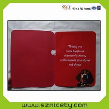 Elegante diseño con precio bajo hechos a mano feliz cumpleaños tarjetas de felicitación