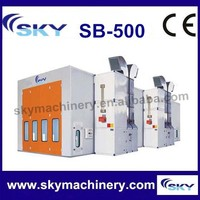 china supplier SB-500 spray booth lights/car baking booth/truck spray booth