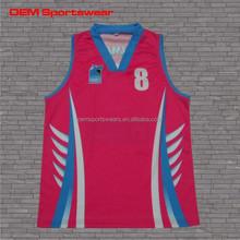 Custom make dazzle team youth basketball jersey