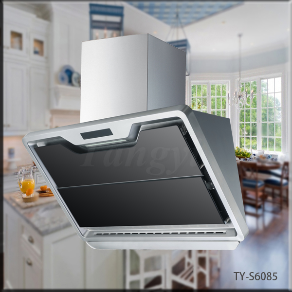 Wall Mounted Chinese Kitchen Exhaust Range Hood Instalacao