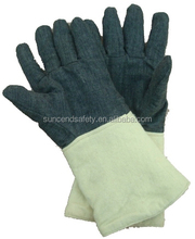 Kevlar mocacrylic specialized disposable fire fighting gloves