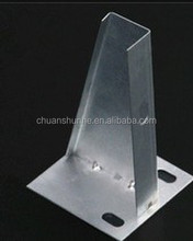 Hot Dip Galvanized Ladder Cable Tray Cantilever Bracket / channel accessories