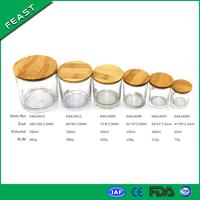 250ml decorating glass jar candle