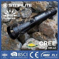 Police 630 lumens waterproof cree mc-e led high power flashlight