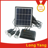 4W solar power panel kit for small homes in africa