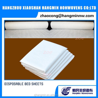 Hot new products Factory price polyester spunlace nonwoven fabric use for disposable Bed sheet