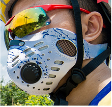 Outdoor neoprene sport face mask with valve
