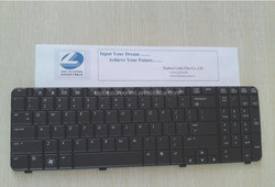 Wholesale price black US laptop keyboards for HP CQ6/G61