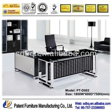 PT-D002 Professional export executive desk high end office furniture classic office furniture funky office furniture
