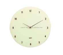 Fashion Design Glass Wall Clocks / Home Decoration Clock