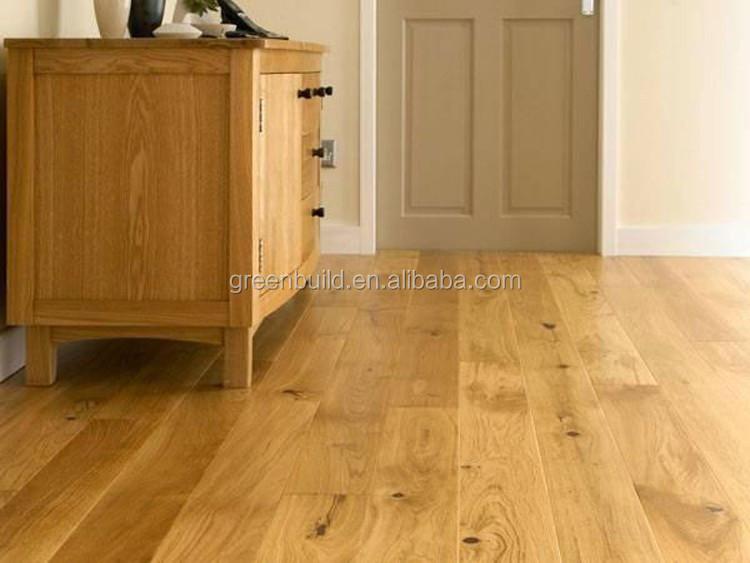 Living Room Waterproof Light White Oak Solid Wood Flooring Buy