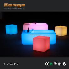 rental wholesale plastic furniture, LED bar counter