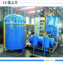 2015 Newest Technology 10th Generation Waste Tire Continuous Pyrolysis Plant