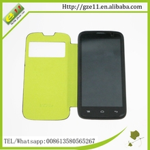 China custom leather mobile phone case for Infinix Hot 507