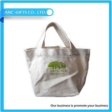 2015 High Quality Shopping Used Eco Friendly Promotional Cotton tote canvas bags