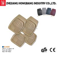 universal rubber car foot mat